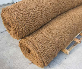 Double Net Straw Mat