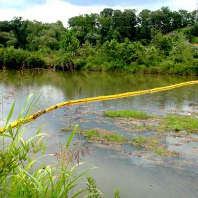 river water pollution