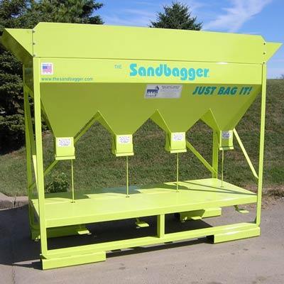 sandbag filling equipment