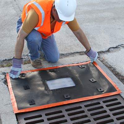 Over Grate Storm Drain Filter
