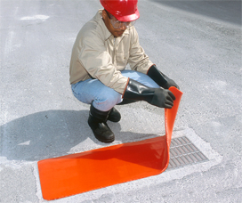 Storm Drain Spill Protection