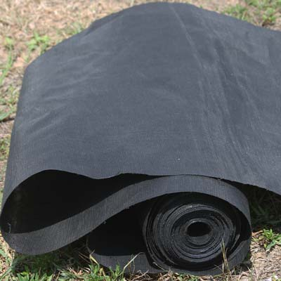 woven geotextile roll