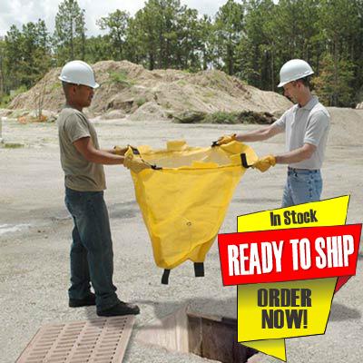 Catch basin sediment bags