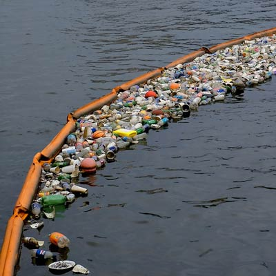 Floating Trash Barrier